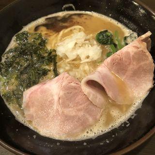 鳥白湯(拉麺ほそや)