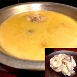 さかえやの濃厚コラーゲン水炊き鍋
