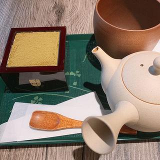 ほうじ茶ティラミス(宇治園 裏参道ガーデン)