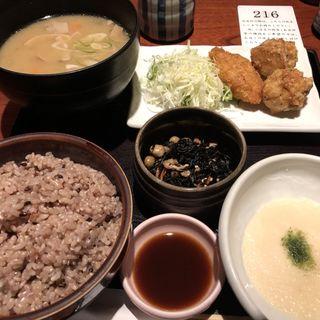 鹿児島黒豚豚汁定食(桜肉料理 馬舌屋 小伝馬町店 (ばたんや))