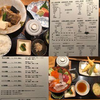 特上海鮮丼と天ぷら膳(塚本鮮魚店 (【旧店名】旬魚酒菜つかもと))