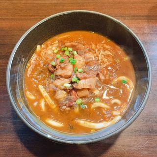 牛すじ煮込みカレーうどん(ミソノ (misono))