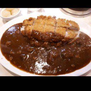 カツカレー(カレー堂堀江店)