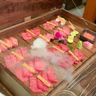 肉10種盛り(肉師じじい)
