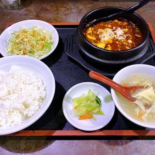 麻婆豆腐定食(橙 (ダイダイ))