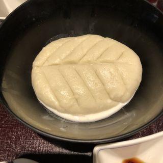 そばがき(手打蕎麦おかむら)