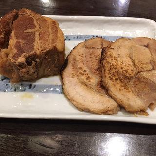 トッピング 肉増し(千極煮干 (センゴクニボシ))