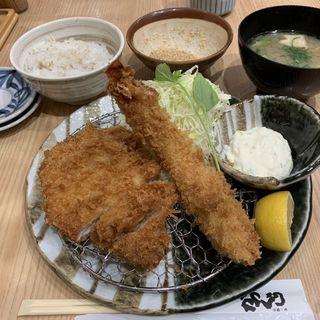 ロースカツ定食(かつくら アトレ上野店 )