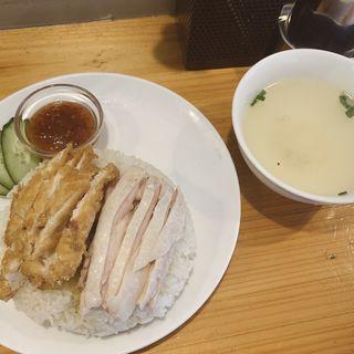 チキンライスMIX大(東京カオマンガイ)