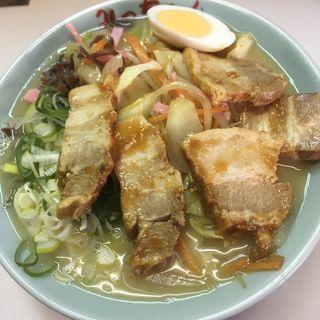 野菜チャーシューメン(みっちゃんラーメン)