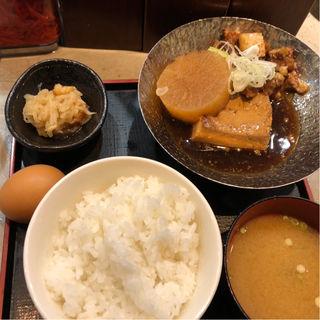肉豆腐定食(ルンゴ)