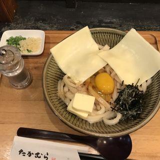 かま玉バターチーズうどん(たかむら )
