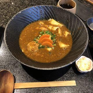 カレーうどん(五代目 花山うどん)