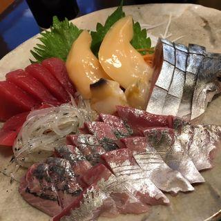 刺し盛り(吉乃川酒蔵)