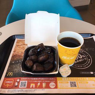 ダブルチョコメルツとプレミアムローストコーヒーS(マクドナルド 19号神屋公園前店 (McDonald's))
