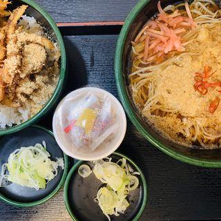 かき揚げ丼セット(ゆで太郎 本所吾妻橋店  )