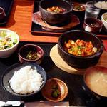 石焼ホルモン定食(きんぎょ)
