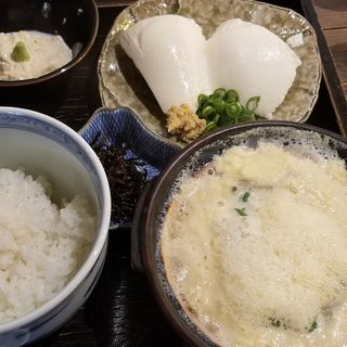 湯葉丼+湯葉刺しセット(湯葉丼 直吉 (ゆばどん なおきち))