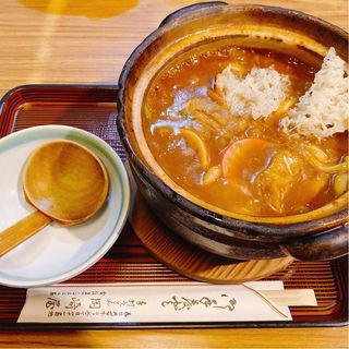 カレー煮込みうどん(岡崎屋 本店 (おかざきや))