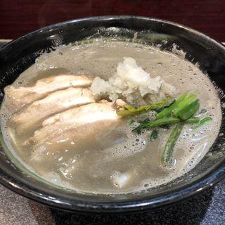 恋煮干し麺 魚三(烈志笑魚油 麺香房 三く)