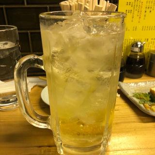チンチロハイボール(大衆酒場BEETLE田町店)