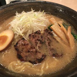 牛タン味噌ラーメン(ロイヤルコーヒーショップ 仙台空港店 )