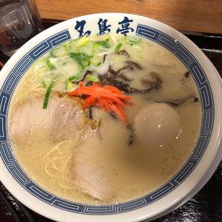 とんこつラーメン(名島亭)