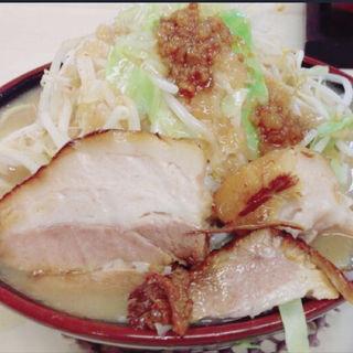 ドカ盛りラーメン(小)野菜マシ(ドカ盛ラーメン 丸十)