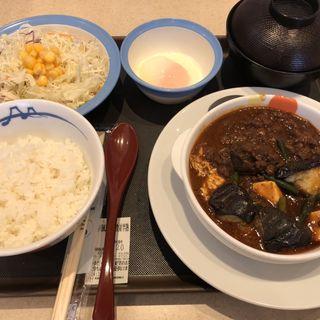 四川麻婆豆腐定食(松家 福岡箱崎店)