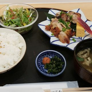 鶏の西京焼膳(旬菜三山 GINZA SIX店)