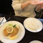 魚フライランチ