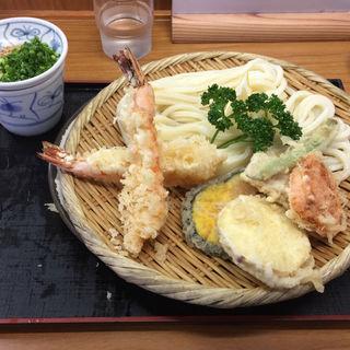 天ぷらうどん(手打うどん 源内 (てうちうどん げんない))