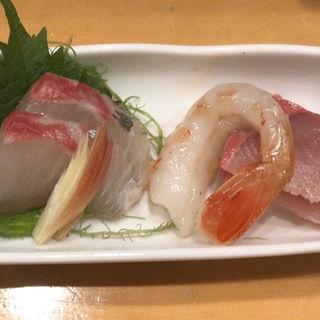 きっときと鮮魚のお造り盛合せ(日本酒スローフード とやま方舟 富山駅店 )