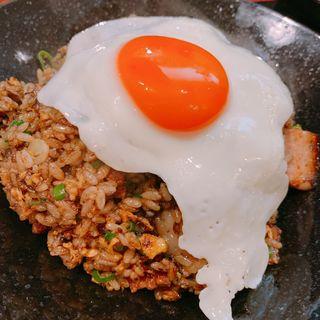 黒玉炒飯(中華麺食堂 亀吉 )