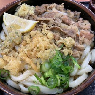 牛肉ぶっかけ(麺処 綿谷 高松店 )