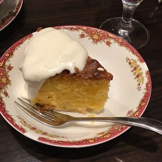 リンゴのケーキ(Cafe RUSSIA )