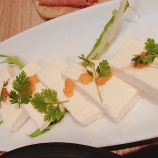 北海道クリームチーズの西京味噌漬け(オサカナバル イル マーレ 横浜西口店)