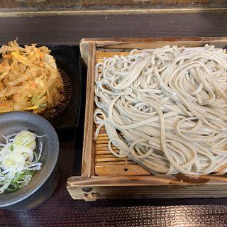 大もりそば&かき揚げ(嵯峨谷 歌舞伎町店 (サガタニ))