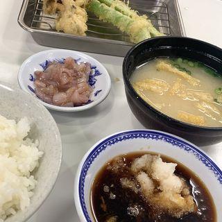 野菜定食(天ぷらのひらお 本店 )