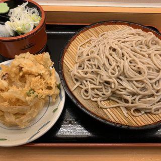 かき揚げ&もり蕎麦(かのや 新宿西口店 )