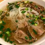 炒め緑野菜と牛肉のパワーフォー(フォー ハノイ トウキョウ (Pho Hanoi TOKYO))