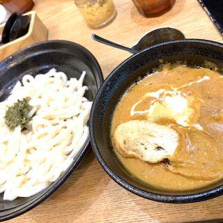 濃厚バターチキンカレーうどん(あんぷく 虎ノ門ヒルズ店 )