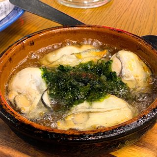 牡蠣と青さ海苔のアヒージョ(Grand Breton Cafe (グランブルトンカフェ))