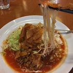 太陽のメキシカンタコス冷麺