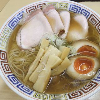 特製煮干しラーメン大盛り(煮干鰮らーめん 圓 (エン))