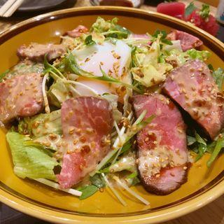 ローストビーフサラダ(太平洋酒場)