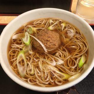 信州肉味噌そば(小諸そば 御徒町店 )