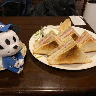BLTサンドイッチセット(蝸牛庵 )