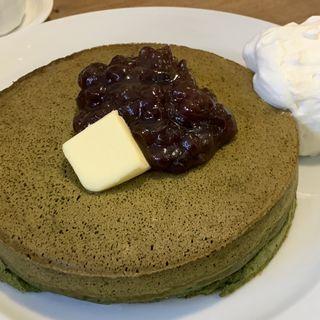 究極のパンケーキ(ほそつじいへえ ティーハウス (TEA HOUSE))