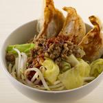 特製餃子丼(味噌ダレ)